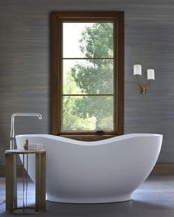 Casement insert in Master Bathroom