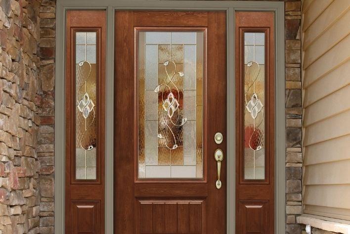 ProVia Wood Door Entryway
