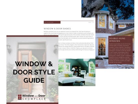 Window & Door Style Guide Sneak Peak